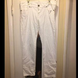 Guess daredevil skinny white jeans
